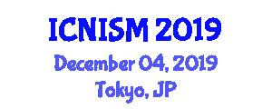 International Conference on Nursing Information Systems and Management (ICNISM) December 04, 2019 - Tokyo, Japan