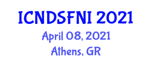 International Conference on Nutraceuticals, Dietary Supplements, Functional Foods and Nutraceutical Ingredients (ICNDSFNI) April 08, 2021 - Athens, Greece