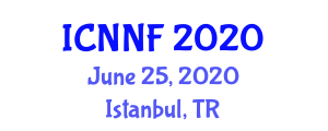 International Conference on Nutraceuticals, Nutrition and Foods (ICNNF) June 25, 2020 - Istanbul, Turkey