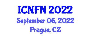 International Conference on Nutrition and Food Nanotechnology (ICNFN) September 06, 2022 - Prague, Czechia