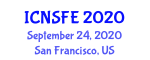 International Conference on Nutrition, Supplements and Food Engineering (ICNSFE) September 24, 2020 - San Francisco, United States