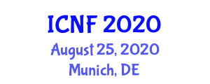 International Conference on Nutritional Health and Food Science and Technology (ICNF) August 25, 2020 - Munich, Germany