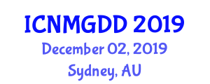 International Conference on Nutritional Management of Gastrointestinal Disease and Disorders (ICNMGDD) December 02, 2019 - Sydney, Australia