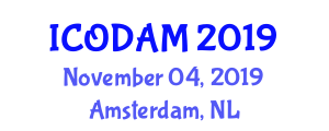 International Conference on Obesity, Diabetes and Alternative Medicines (ICODAM) November 04, 2019 - Amsterdam, Netherlands