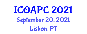 International Conference on Observational Astrophysics and Physical Cosmology (ICOAPC) September 20, 2021 - Lisbon, Portugal