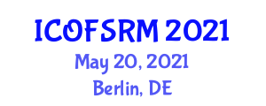 International Conference on Ocean Fertilization and Solar Radiation Management (ICOFSRM) May 20, 2021 - Berlin, Germany