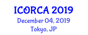 International Conference on Ontogenetic Robotics and Current Applications (ICORCA) December 04, 2019 - Tokyo, Japan