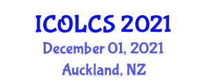 International Conference on Open-Loop Control Systems (ICOLCS) December 01, 2021 - Auckland, New Zealand