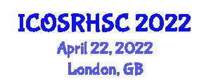 International Conference on Open-Source Robotics Hardware and Software Components (ICOSRHSC) April 22, 2022 - London, United Kingdom
