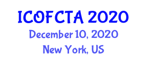 International Conference on Optical Fiber Communication Technologies and Applications (ICOFCTA) December 10, 2020 - New York, United States
