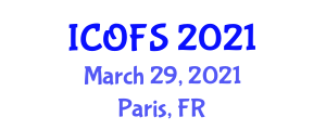 International Conference on Optical Fiber Sensors (ICOFS) March 29, 2021 - Paris, France