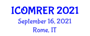 International Conference on Optimization Methods for Renewable Energy Resources (ICOMRER) September 16, 2021 - Rome, Italy