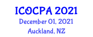 International Conference on Organophosphorus Chemistry and Phosphinic Acids (ICOCPA) December 01, 2021 - Auckland, New Zealand