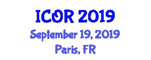 International Conference on Orthopedics and Rheumatology ICOR on
