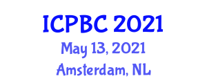 International Conference on Pairing-Based Cryptography (ICPBC) May 13, 2021 - Amsterdam, Netherlands