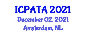 International Conference on Paleoseismology, Active Tectonics and Archeoseismology (ICPATA) December 02, 2021 - Amsterdam, Netherlands