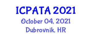 International Conference on Paleoseismology, Active Tectonics and Archeoseismology (ICPATA) October 04, 2021 - Dubrovnik, Croatia