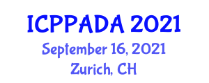 International Conference on Parasite Product Applications for Domestic Animals (ICPPADA) September 16, 2021 - Zurich, Switzerland