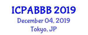 International Conference on Peptide Applications for Biomedicine, Biotechnology and Bioengineering (ICPABBB) December 04, 2019 - Tokyo, Japan