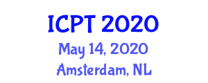 International Conference on Pharmacology and Toxicology (ICPT) May 14, 2020 - Amsterdam, Netherlands