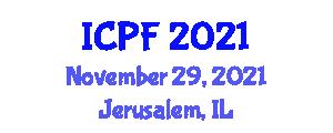 International Conference on Philosophy of Food (ICPF) November 29, 2021 - Jerusalem, Israel