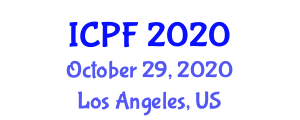 International Conference on Physical Fitness (ICPF) October 29, 2020 - Los Angeles, United States