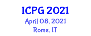 International Conference on Physical Geography (ICPG) April 08, 2021 - Rome, Italy