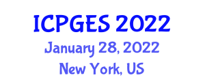 International Conference on Physical Geology and Exploration Seismology (ICPGES) January 28, 2022 - New York, United States
