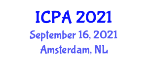International Conference on Physics and Astronomy (ICPA) September 16, 2021 - Amsterdam, Netherlands