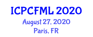 International Conference on Physics and Chemistry of Fiber Metal Laminates (ICPCFML) August 27, 2020 - Paris, France
