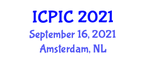 International Conference on Physics, Information, and Computation (ICPIC) September 16, 2021 - Amsterdam, Netherlands