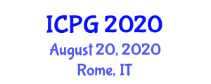 International Conference on Physiography and Geography (ICPG) August 20, 2020 - Rome, Italy
