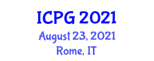 International Conference on Physiography and Geography (ICPG) August 23, 2021 - Rome, Italy