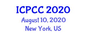 International Conference on Phytogeography and Climatic Classification (ICPCC) August 10, 2020 - New York, United States