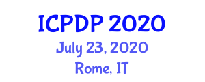 International Conference on Phytogeography and Distribution Patterns (ICPDP) July 23, 2020 - Rome, Italy