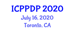 International Conference on Phytogeography and Plant Distribution Patterns (ICPPDP) July 16, 2020 - Toronto, Canada