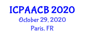 International Conference on Place Attachment, Affect, Cognition and Behavior (ICPAACB) October 29, 2020 - Paris, France