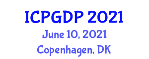 International Conference on Plant Geography and Distribution Patterns (ICPGDP) June 10, 2021 - Copenhagen, Denmark