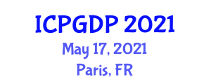 International Conference on Plant Geography and Distribution Patterns (ICPGDP) May 17, 2021 - Paris, France
