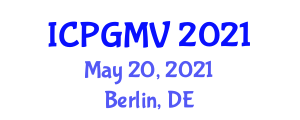 International Conference on Plant Geography and Marine Vegetation (ICPGMV) May 20, 2021 - Berlin, Germany
