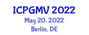 International Conference on Plant Geography and Marine Vegetation (ICPGMV) May 20, 2022 - Berlin, Germany