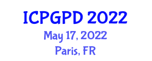 International Conference on Plant Geography and Plant Distribution (ICPGPD) May 17, 2022 - Paris, France