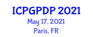 International Conference on Plant Geography and Plant Distribution Patterns (ICPGPDP) May 17, 2021 - Paris, France