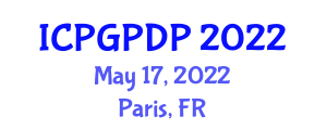International Conference on Plant Geography and Plant Distribution Patterns (ICPGPDP) May 17, 2022 - Paris, France