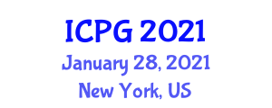 International Conference on Plant Geography (ICPG) January 28, 2021 - New York, United States