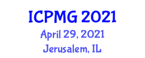 International Conference on Polar Microbiology and Glaciology (ICPMG) April 29, 2021 - Jerusalem, Israel