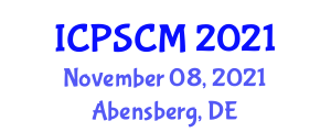 International Conference on Polymer Science and Composite Materials (ICPSCM) November 08, 2021 - Abensberg, Germany