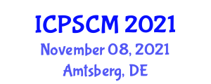 International Conference on Polymer Science and Composite Materials (ICPSCM) November 08, 2021 - Amtsberg, Germany