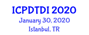 International Conference on Polypharmacy, Drug Toxicity and Drug Interactions (ICPDTDI) January 30, 2020 - Istanbul, Turkey