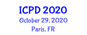 International Conference on Population and Development (ICPD) October 29, 2020 - Paris, France